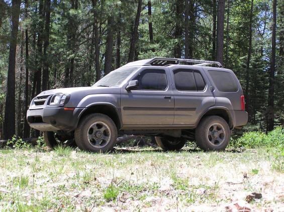 Lifted Nissan Xterra >> Calmini 3 inch suspension lift install - Nissan Xterra