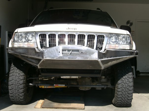 Jeep WJ Custom Front Bumper