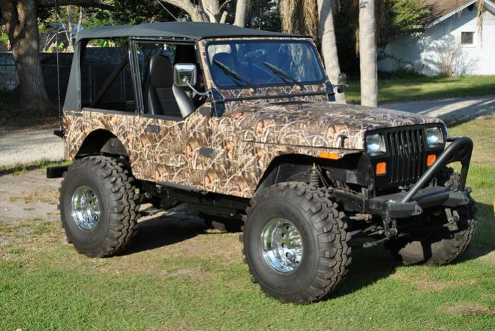 White Camo Jeep : Camo u jeep wraps