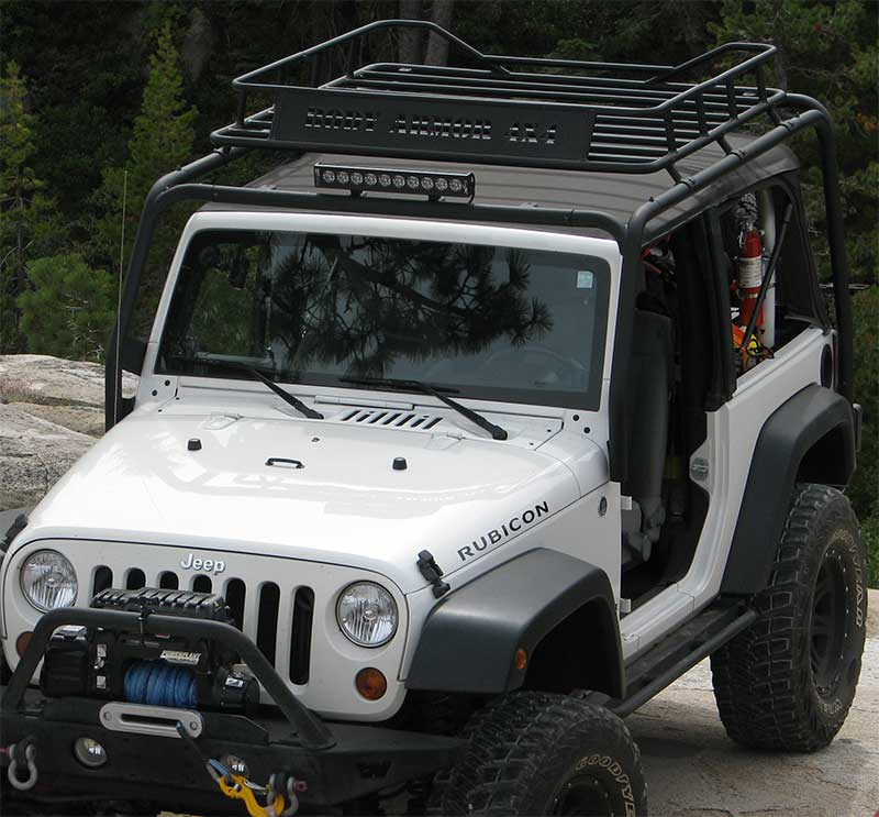 Body Armor Roof Rack And Basket