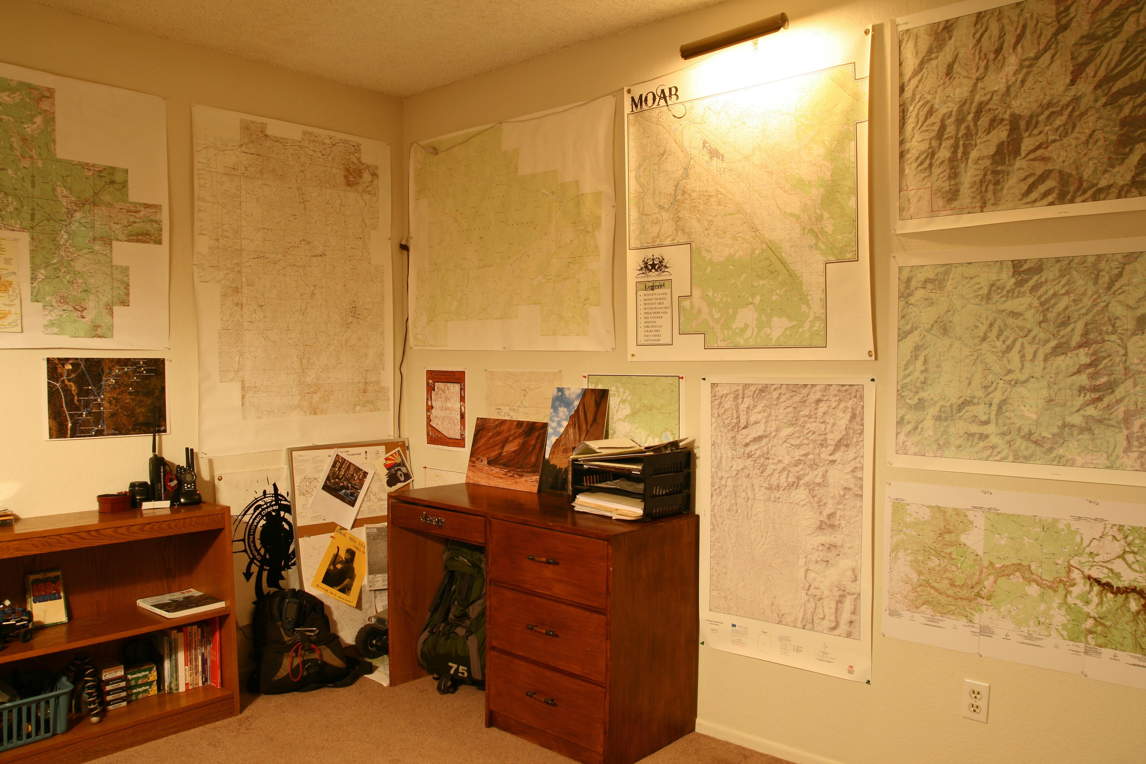 Easy Custom Topo Maps