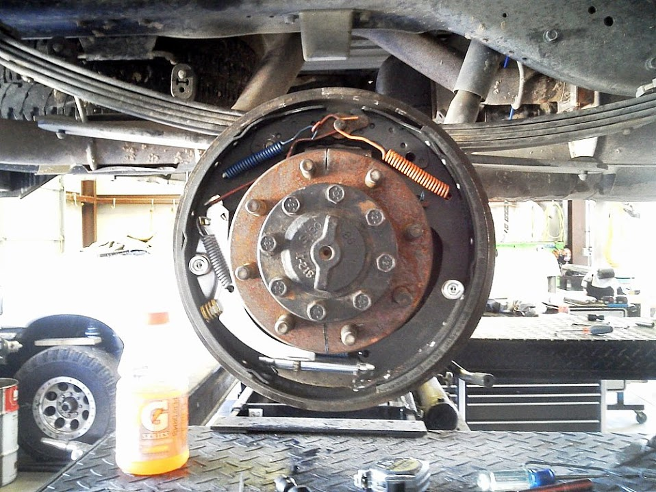 1998 dodge ram 2500 rear brake diagram